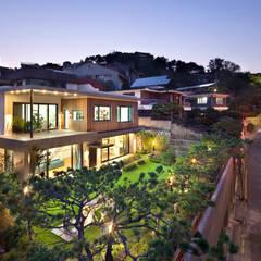 전경: (주)건축사사무소 모도건축의  주택