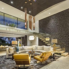 House Umhlanga: modern Living room by Ferguson Architects