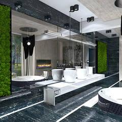 TALL STORY | Wnętrze domu: styl nowoczesne, w kategorii Spa zaprojektowany przez ARTDESIGN architektura wnętrz