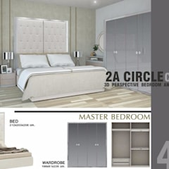 CIRCLE 2 (STYLE LUXURY):  ห้องนอน by Future Interior Design Co.,Ltd.
