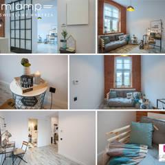 Metamorfoza mieszkania w kamienicy: styl , w kategorii Sypialnia zaprojektowany przez Mlamp