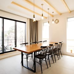 modern Dining room by 창조하우징