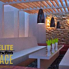 Pineda Residence:  Garden by A+Elite, Mediterranean