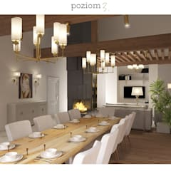 : classic Dining room by poziom3.