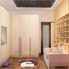 KIDS ROOM - VIEW 1:  Nursery/kid's room by MAD DESIGN