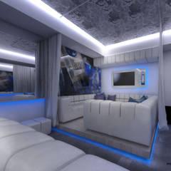 VIP Room, Concept Music Club / Kraków : styl , w kategorii Bary i kluby zaprojektowany przez Huk Architekci