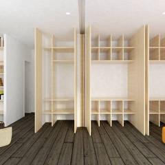 APPARTEMENT JOFFRE: Dressing de style de style Moderne par MEMO Architecture