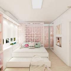 Dormitório da Bailarina: Quarto infantil  por iost arquitetura,