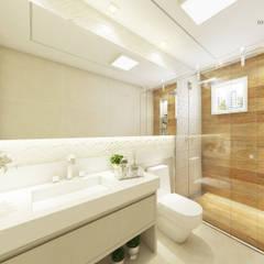 modern Bathroom by iost arquitetura