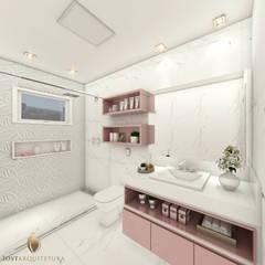 Banheiro da Menina: Banheiros  por iost arquitetura