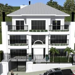 Fachada: Edifícios comerciais  por STUDIO MP | Engenharia e Arquitetura