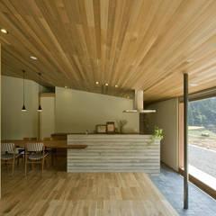 鮎立の家: 浦瀬建築設計事務所が手掛けたキッチンです。,