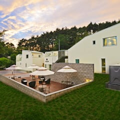 르샤트리: 건축사사무소 어코드 URCODE ARCHITECTURE의  정원