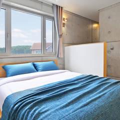 르샤트리: 건축사사무소 어코드 URCODE ARCHITECTURE의  침실