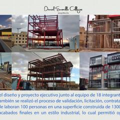 Edificio de oficinas CEVI: Oficinas y tiendas de estilo  por De.sign