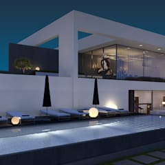 B&B BORBOLETA 37°10'N 7°59'W:  Hotels door MOTUS architects