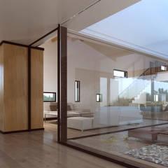 Fincas 2 -270m²-, Buenos Aires, Argentina. : Pasillos y vestíbulos de estilo  de GokoStudio