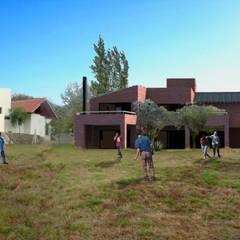 Casa MH: Jardines de estilo  por Development Architectural group