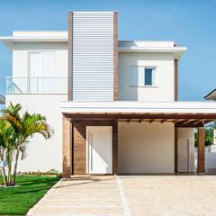 ARQUITETURA RESIDENCIAL JUNDIAÍ RESERVA DA SERRA: Casas  por Aresto Arquitetura