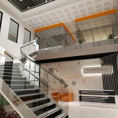 Lia Mimarlık İçmimarlık – Pernat Endustrie Turkey:  tarz Ofisler ve Mağazalar