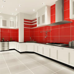 Kitchen 3D Design #1:  ห้องครัว by SIAMTAK CO., LTD.