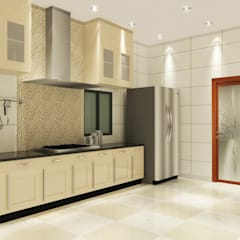 Kitchen 3D Design #2:  ห้องครัว by SIAMTAK CO., LTD.