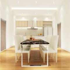 Kitchen 3D Design #7:  ห้องครัว by SIAMTAK CO., LTD.