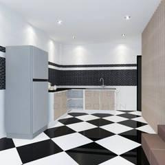 Kitchen 3D Design #15:  ห้องครัว by SIAMTAK CO., LTD.