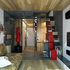 Modern Living Room by CLOUD9 DESIGN Modern