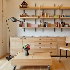 اتاق نشیمن توسط直方設計有限公司