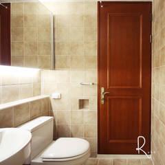 이국적인 감성의 38평 아파트 인테리어: 로하디자인의  욕실