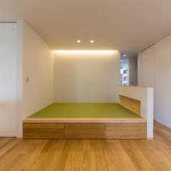 姫路市飾磨区の家: 中村建築研究室 エヌラボ(n-lab)が手掛けた和室です。