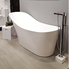 Lacava Flou Freestanding Soaker Tub:  Bathroom by Serenity Bath