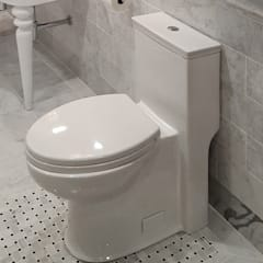 Lacava Trenta 1pc. Elongated Toilet:  Bathroom by Serenity Bath