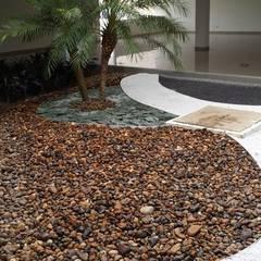 EDIFICIO MIRADOR DE SAN PEDRO - SANTA MARTA/MAGDALENA - COLOMBIA: Jardines de estilo  por BRASSICA SOLUCIONES PAISAJISTICAS S.A.S.