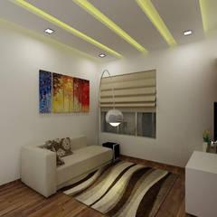 Media room by A Design Studio,