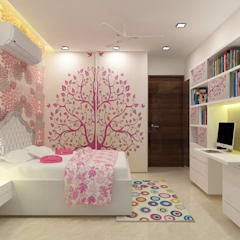 Daughter's Bedroom:  Bedroom by A Design Studio