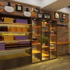 Cake Shop Modern commercial spaces by A Design Studio Modern