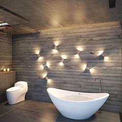 Baños de estilo topical por 禾御建築室內設計有限公司