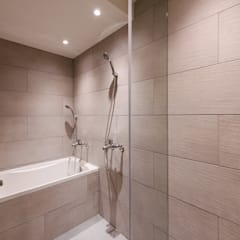 三重王宅:  浴室 by 隹設計 ZHUI Design Studio