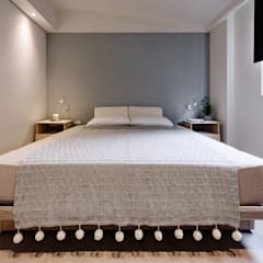 eclectic Bedroom by 隹設計 ZHUI Design Studio