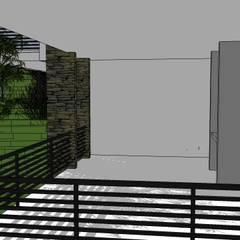 Casa VAR: Terrazas de estilo  por Development Architectural group