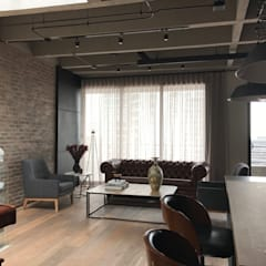 apartamento circunvalar: Salas de estilo  por Ecologik