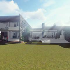 CASA PERALTA – VALVERDE: Casas de estilo  por Dušan Marinković - Arquitectura