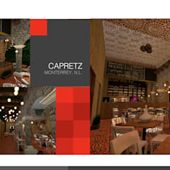 Pretzel Café : Comedores de estilo clásico por 360arquitectura