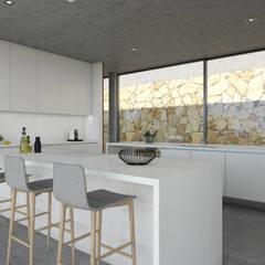 مطبخ تنفيذ Areacor, Projectos e Interiores Lda