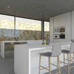 Kitchen by Areacor, Projectos e Interiores Lda