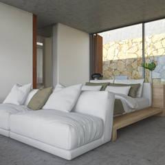 غرفة نوم تنفيذ Areacor, Projectos e Interiores Lda