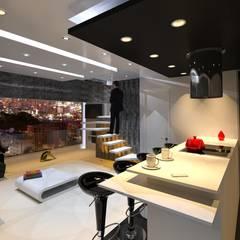 Apto 04 - Chula Vista: Cocinas de estilo  por ME7 Estudio de Arquitectura,