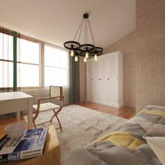 50GR Mimarlık – Bakırköy_ev:  tarz Çocuk Odası,